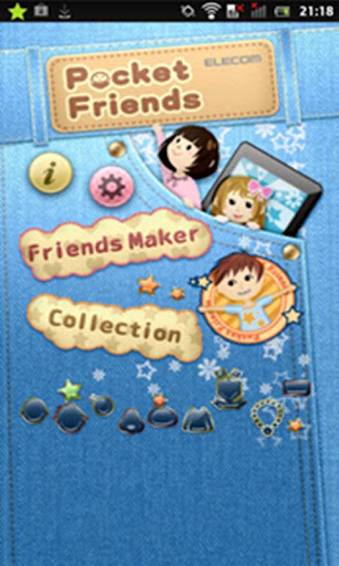 Pocket Friends (Cute widget) 1.0.0 Windows u7528 1