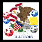 Illinois winning numbers icon