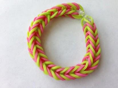 Fishtail Rainbow Loom Bracelet - screenshot thumbnail