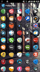 Pebbles HD Apex Nova Holo Adw - screenshot