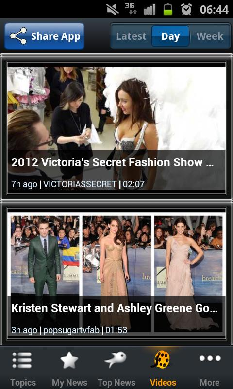 Fashion News - Riversip - screenshot