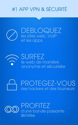android Hotspot Shield VPN Privacy Screenshot 4