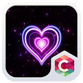 Neon Heart Theme HD: CLauncher