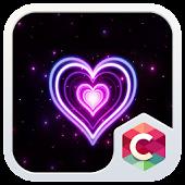 NEON HEART C LAUNCHER THEME APK for Blackberry