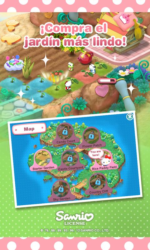 Jard n de hello kitty aplicaciones de android en google play for Juegos de hello kitty jardin