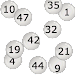 Lottery Number Picker Icon
