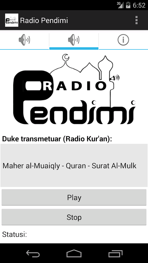 Radio Pendimi - screenshot