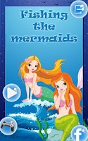 Screenshot of Fishing the Mermaids Kids Game
