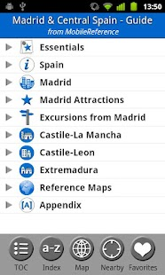 Madrid & Central Spain - Guide - screenshot thumbnail