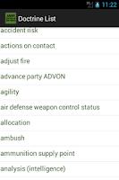 Screenshot of Army Tactics & Doctrine