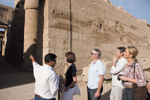 Uniworld-River-Tosca-Karnak-Temple - Experienced guides will lead you through the historic Karnak Temple complex during your Egyptian adventure on Uniworld's River Tosca cruise ship.