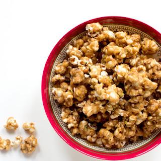 White Truffle-Pistachio Caramel Corn