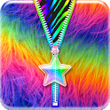 Rainbow★Star★Zipper Lockscreen icon