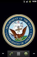 Screenshot of Navy Wallpaper
