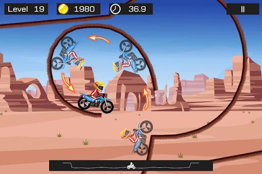 Top Bike - best physics bike stunt racing game 3.89 screenshots 5