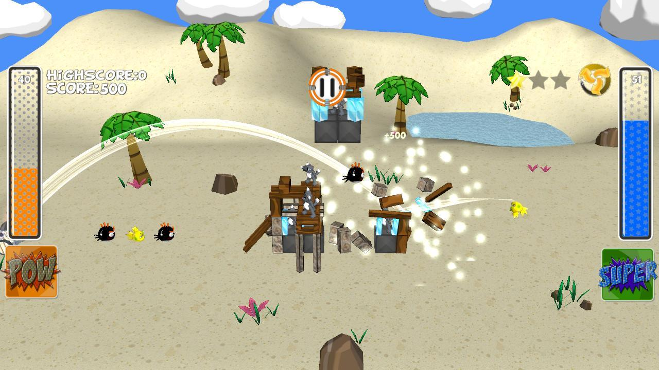 Angry Fish 3D- screenshot
