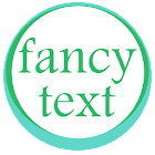 Fancy text + icon