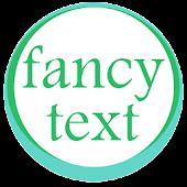 Fancy text +