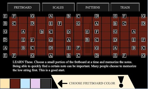 guitar fret master - screenshot thumbnail
