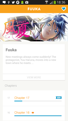 Crunchyroll Manga for Android apk 4