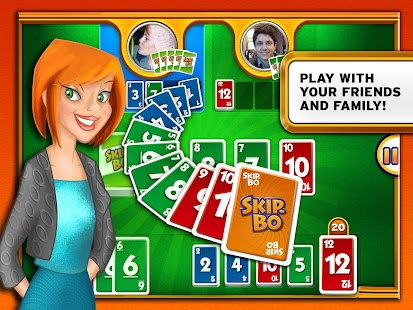 Skip-Bo™ Screenshot