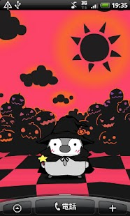 Pesoguin LWP Halloween Penguin- screenshot thumbnail