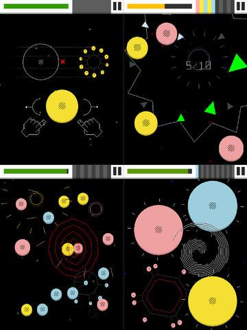 Игра Eliss Infinity для планшетов на Android