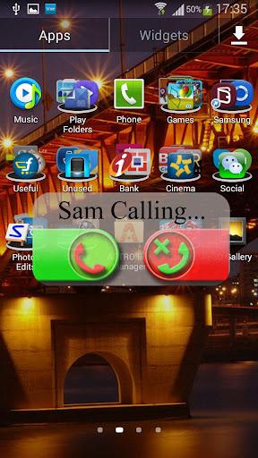 Transparent Caller