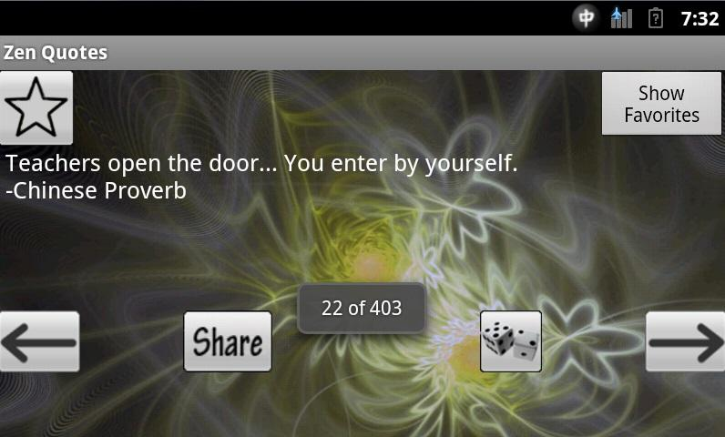 Zen Quotes - screenshot