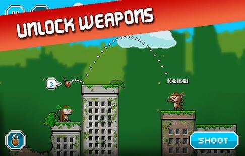 City Monkey: Pixel Artillery Screenshot 9