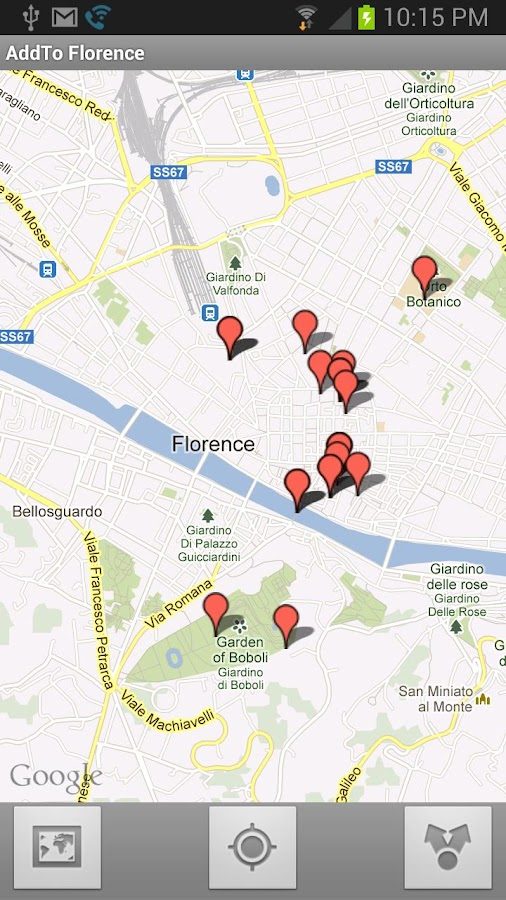 AddTo Florence- screenshot