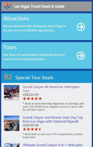 Las Vegas Travel Deals Guide