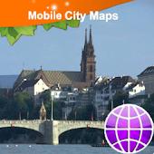 Basel Street Map