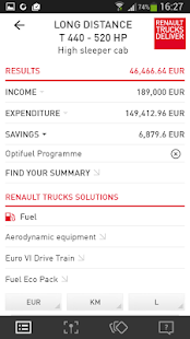 Cost Saver by Renault Trucks- screenshot thumbnail