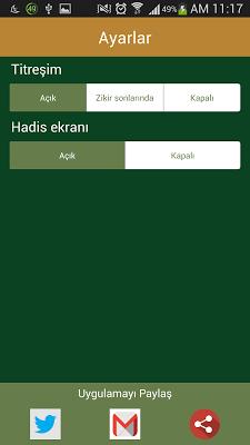Akıllı Tesbih / Zikirmatik - screenshot
