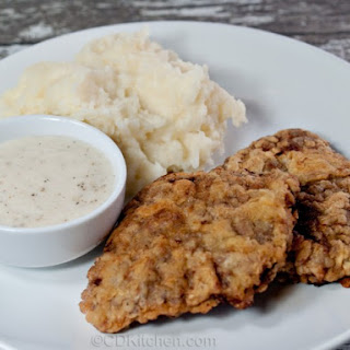 Classic Chicken Fried Cube Steak.
