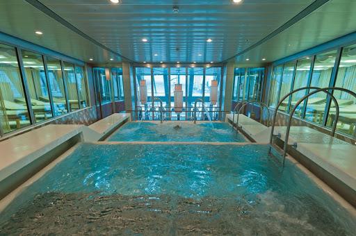 Costa-neoRomantica-Samsara-Spa-Thalassotherapy -Pool - The Thalassotherapy Pool at Costa neoRomantica's Samsara Spa.