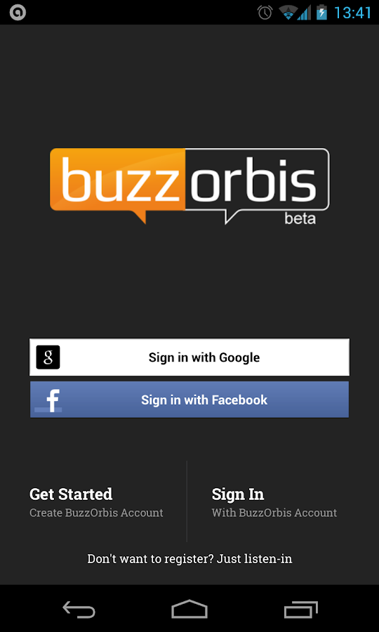 BuzzOrbis - screenshot