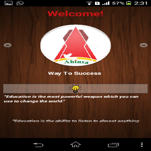 Ahinsa International School LOGO-APP點子