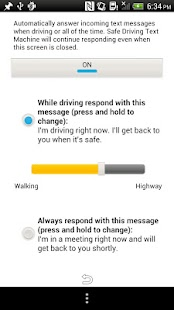 Safe Driving Text Machine - screenshot thumbnail