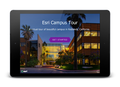 Esri Campus Map Tour screenshot 4