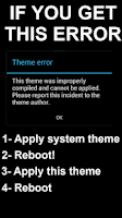 Screenshot of Blue Infinitum Theme - Free