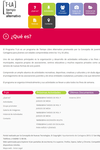 【免費通訊App】Programa T-La Cartagena-APP點子