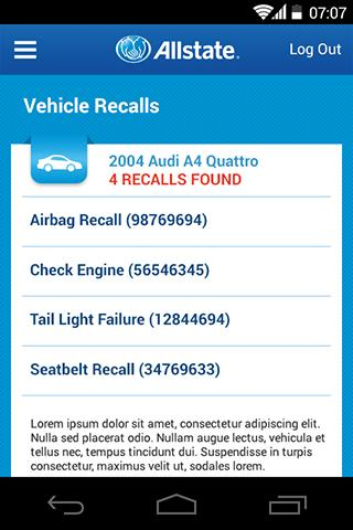 Allstate® Mobile- screenshot