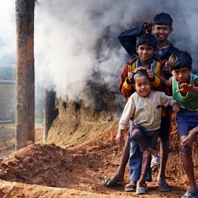 by Ajay Halder - Babies & Children Children Candids ( Emotion, portrait, human, people )