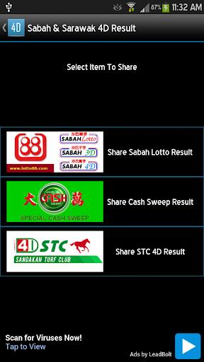 Sabah Sarawak 4D Result