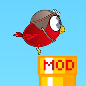 Floppy Bird Mod - Speed/Pipes