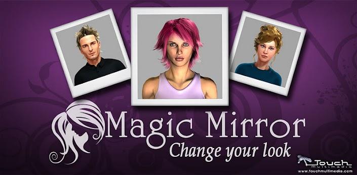 Magic Mirror Espelho Mágico Cabeleireiro app