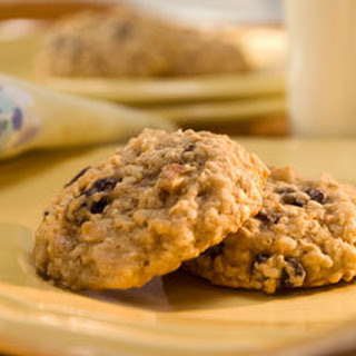 Chewy Oatmeal Raisin Cookies.