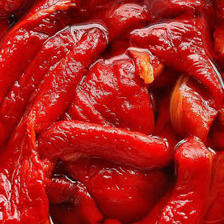 Sweet and Sour Red Pepper Jam.